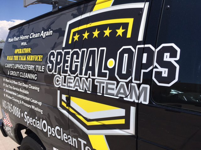 Special Ops Clean Team Van
